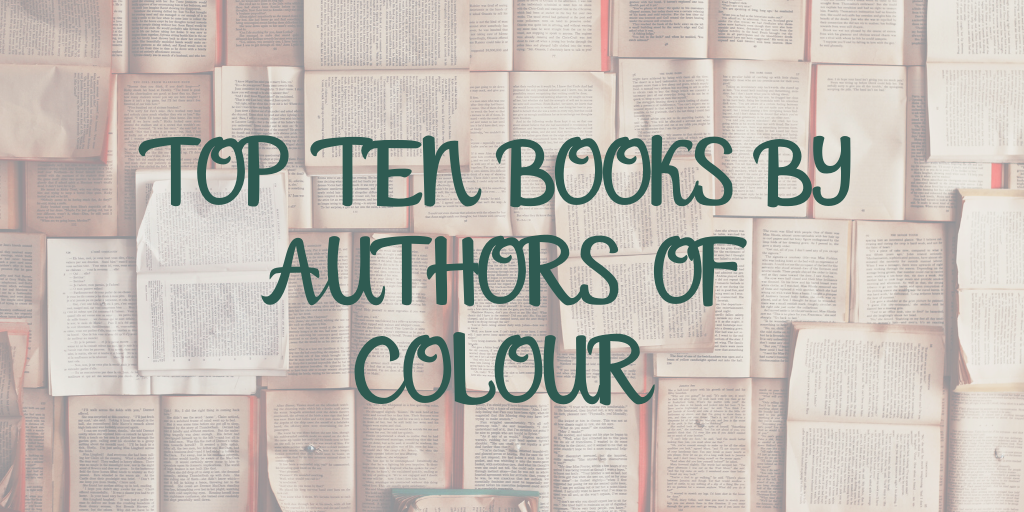 Top ten books by authors of colour